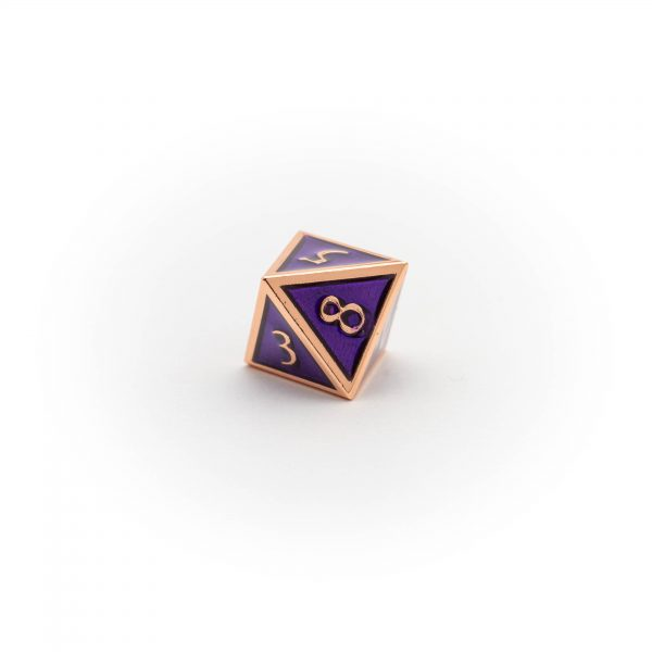 D8 Amethyst Copper