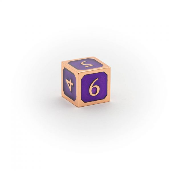 D6 Amethyst Copper